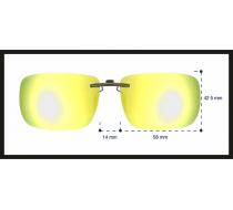 Sluneční klip na dioptrické brýle 2