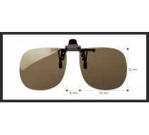 Sluneční klip na dioptrické brýle 3